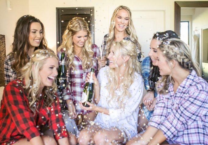 Bridal Party Tans